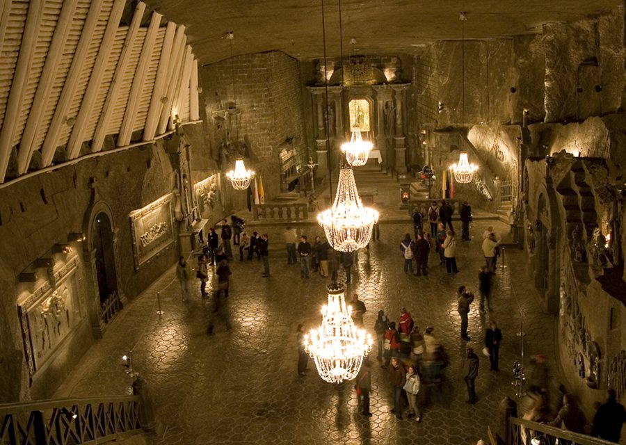 Salt mine krakow wedding