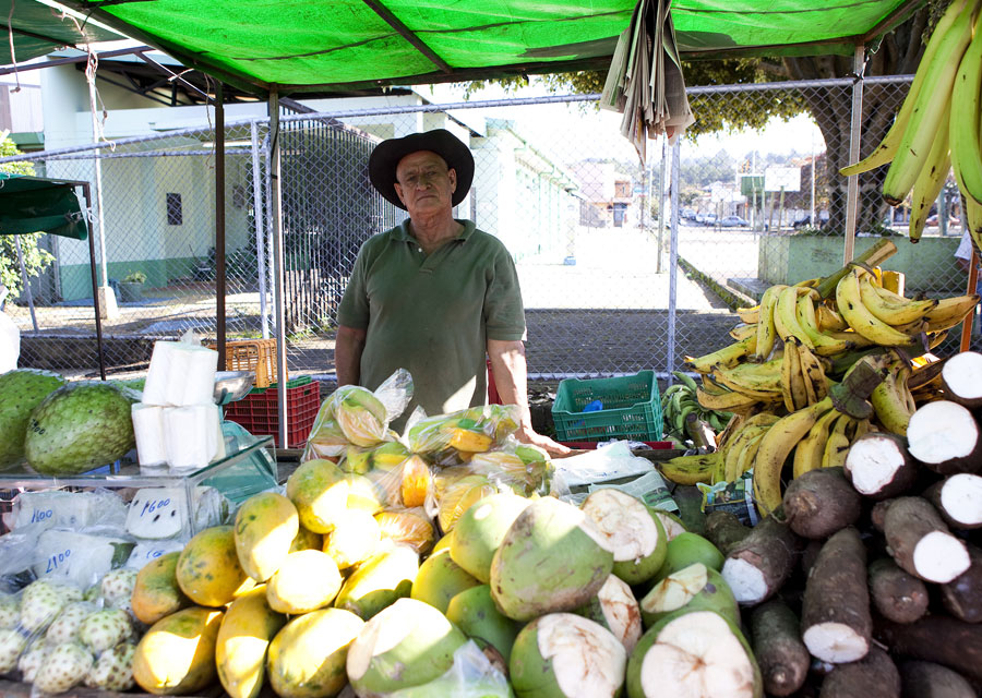 Fruit stall in Costa Rica