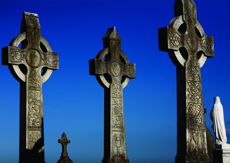 Gravestones in Ireland