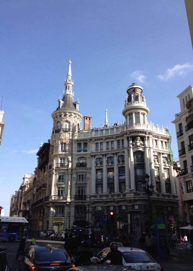 Buildings in Madrid