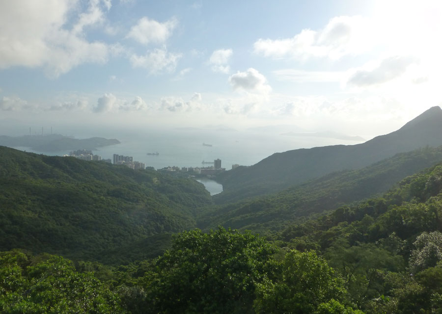 Alternative view from the Peak