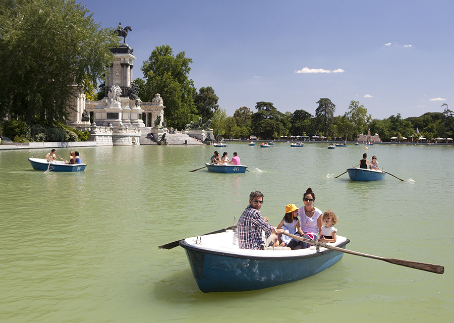 Madrid Boating Lake