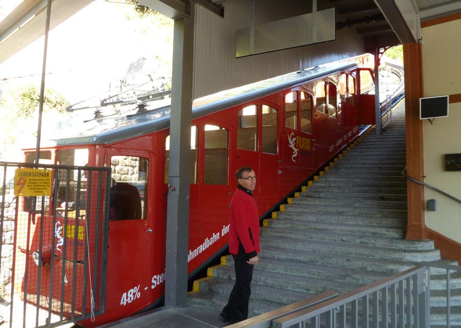Mount Pilatus funicular