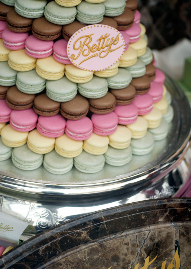 Macaroons in Betty's