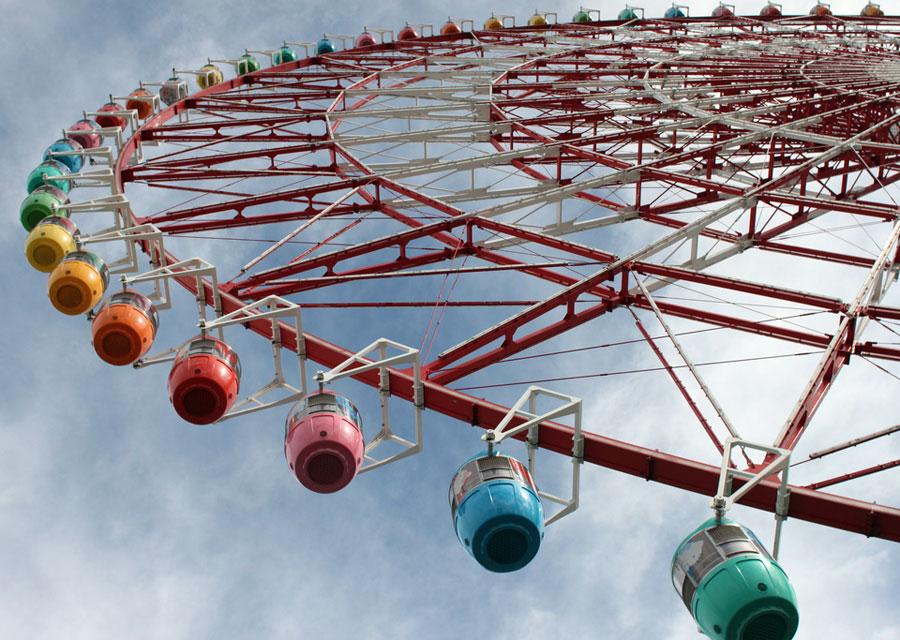 Ferris wheel in Palette Town, Tokyo