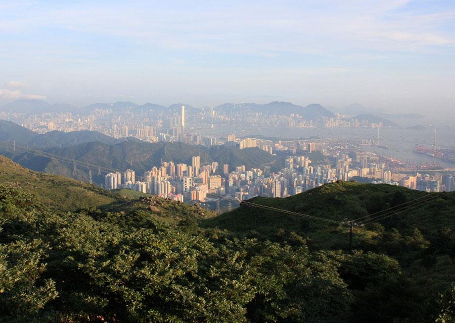 View from Tai Mo Shan, Hong Kong