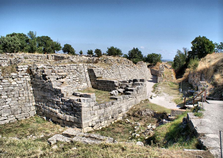 Ruins at Troy