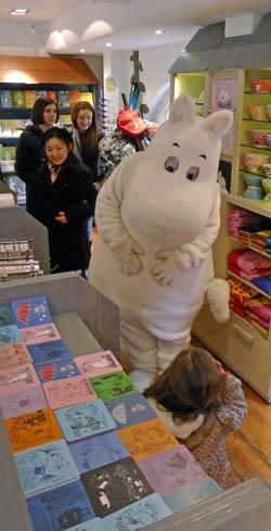 Moomin merchandise is incredibly effective
