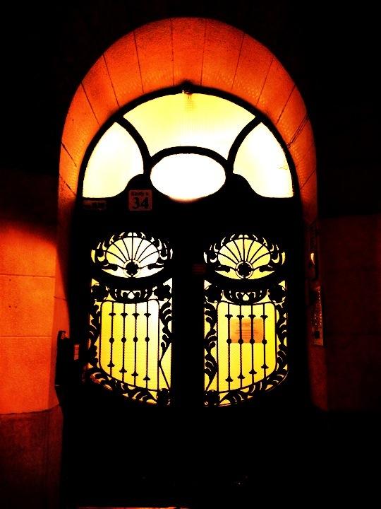 Budapest doorway
