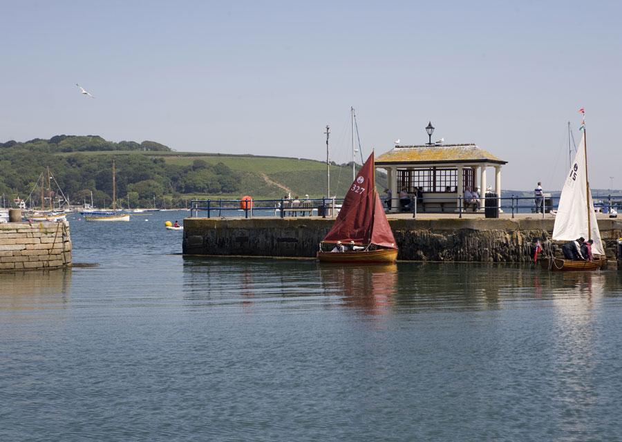 Falmouth quayside