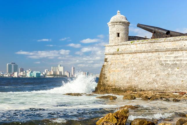 Havana harbour, Cuba.