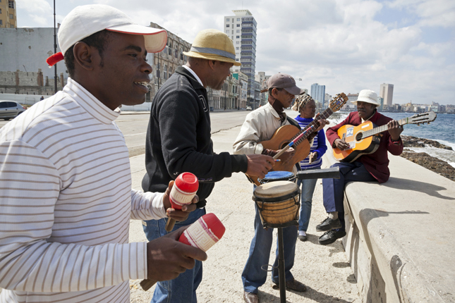 Havana salsa streets, Cuba.