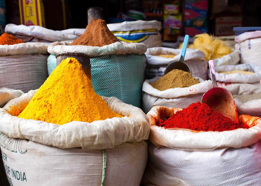 Marrakech; Morocco; Spice Square