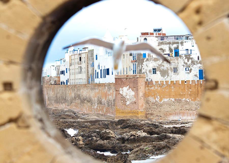 Essaouira ramparts; Morocco; Southwest Coast