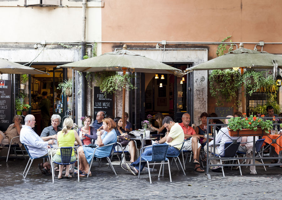 Ombre Rosse Café