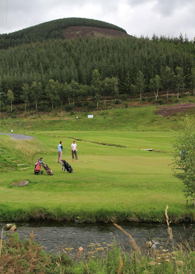 Golf near Innerleithen
