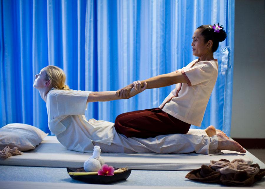 Thai  on live erotic massage