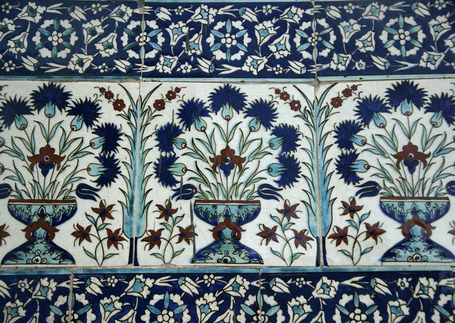 Tiles at Topkapi Palace