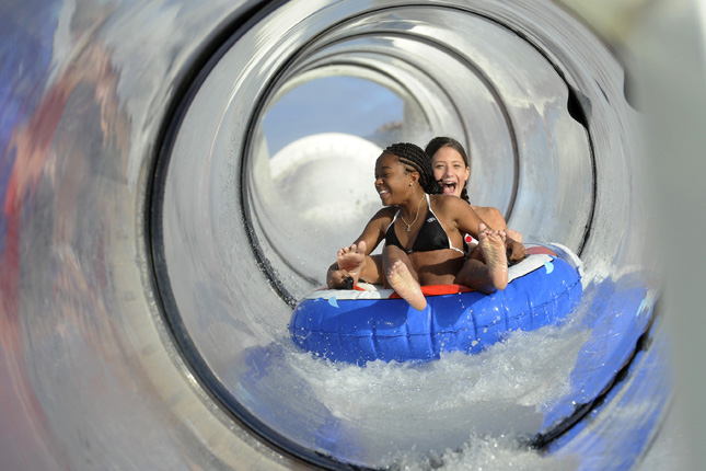 Disney Cruise Slide