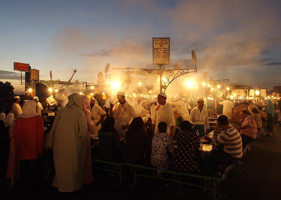 Jemaa el Fna Marrakech Morocco
