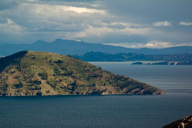 The magnificent Lake Titicaca.