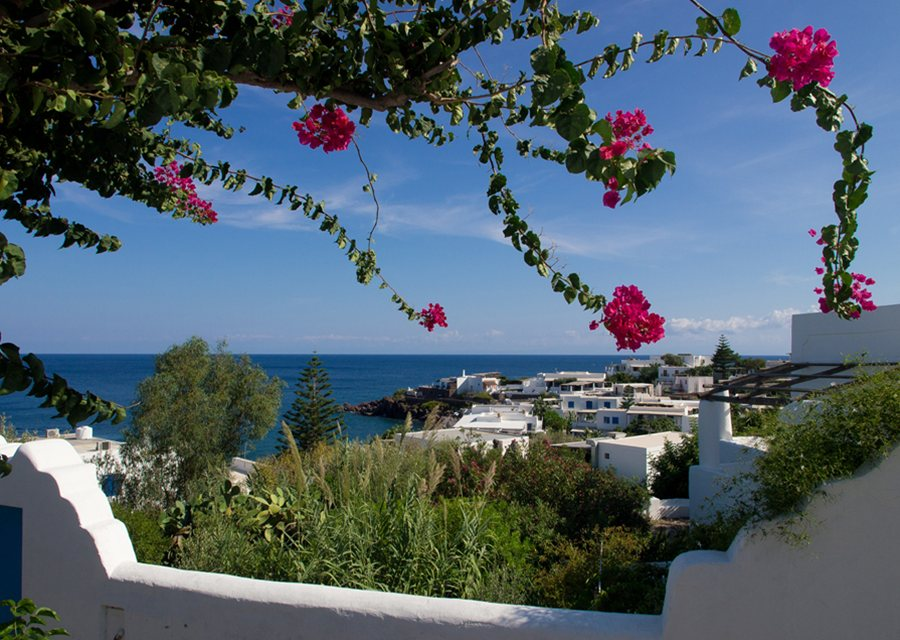 Panarea, one of the Aeolian Islands, is an exclusive retreat, (photo by Neil Buchan-Grant)