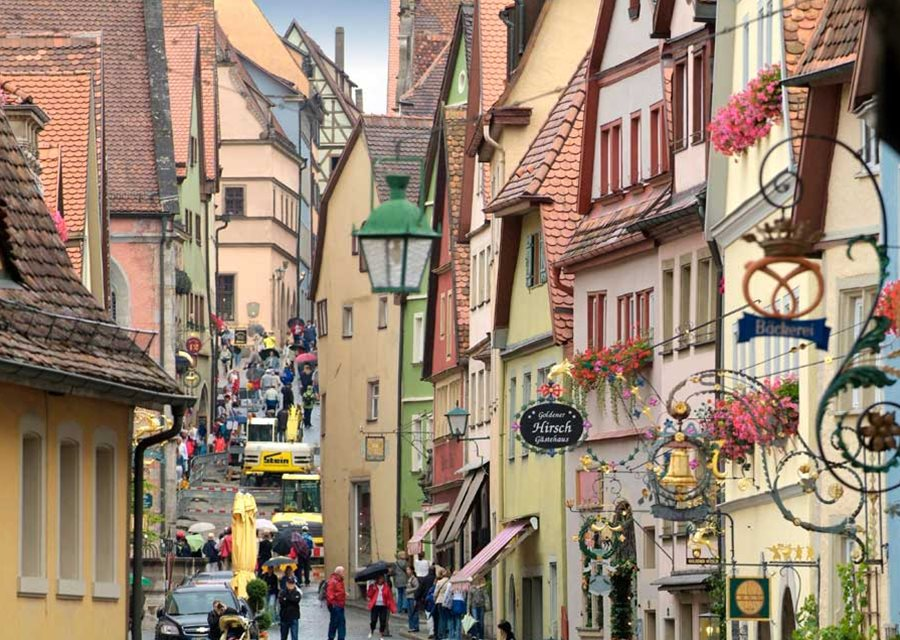 Romantic Road Travel Guide Places To Visit Things To Do - Germany map romantic road
