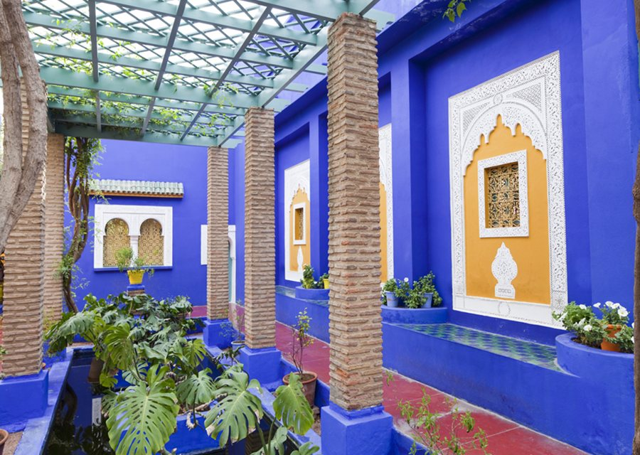 Marrakech travel guide places to visit things to do for Jardin yves saint laurent maroc